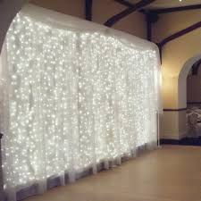 curtain light ucharge led icicle lights