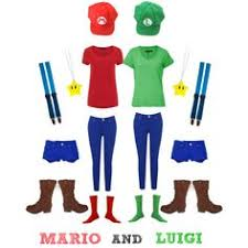 Mario Luigi Halloween Costumes Couples Mario U0026 Luigi Diy Costumes Socks Julie