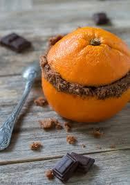gateau cuisine gâteau au chocolat cuit dans une orange