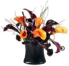 89 best halloween flower arrangements images on pinterest flower