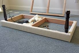 Built In Bench Seat Dimensions Diy Upholstered Built In Bench Part 1