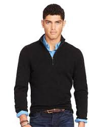 polo ralph lauren half zip cotton sweater men pinterest