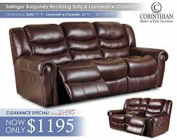 Klaussner Vaughn Sofa Reclining Living Sets U2013 All American Mattress U0026 Furniture