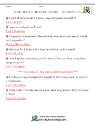 multiplication word problem worksheets 3rd grade