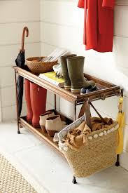storage organization ideas for the entryway how to decorate storage and organization ideas for the entryway using ballard designs double boot tray