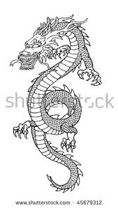 dragon drawing stock images royalty free images u0026 vectors