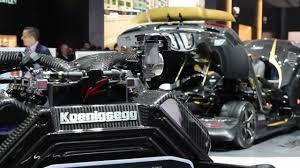 koenigsegg engine block carbon gold koenigsegg agera s hundra 100 geneva motor show