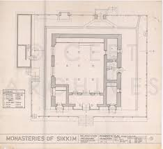 monasteries at sikkim india architectural drawings cept archives