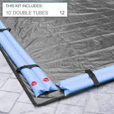 Inground Pool Kits Clearance 18 U0027 X 36 U0027 Rectangular Winter Pool Cover Splash Super Center