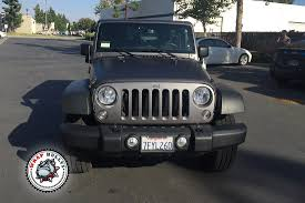 jeep wrangler dark grey jeep wrangler rubicon wrapped in matte gray wrap wrap bullys