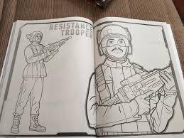 star wars the force awakens coloring book reveals two new