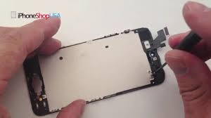 How To Join Broken Glass by How To Fix Replace Repair Iphone 5 Broken Glass Screen Lcd Diy