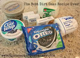 dirt cake u2014 recipes hubs