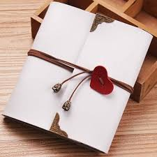 Leather Wedding Guest Book Leather Heart Strap Photo Album Scrapbook Album Wedding Guest