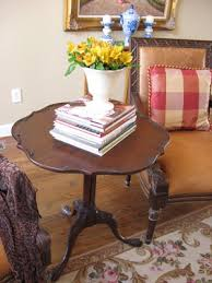 pie crust end table the piecrust table southern hospitality