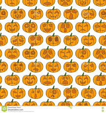 free halloween orange background pumpkin vector cartoon hand drawn halloween pumpkin background stock