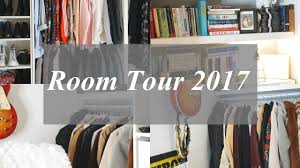 room tour 2017 affordable office u0026 closet space youtube