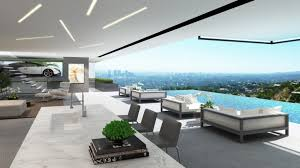 two modern mansions on sunset plaza drive in la by ameen ayoub
