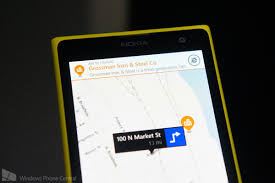 Nokia Maps Nokia Brings Advertisements To Here Maps On Some Windows Phones