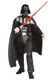 Tall Man Halloween Costumes Deluxe Darth Vader Costume