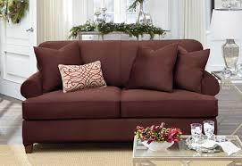 T Cushion Sofa Slip Cover 2 Cushion Sofa Slipcover Sofas