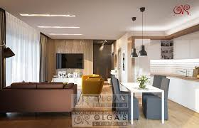 Designs For Kitchen by Design For Large Living Room With Kitchen Photo 2016 And Modern