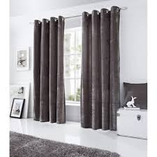 Pewter Curtains Buy Pewter Velvet Ring Top Curtains More Curtains Available