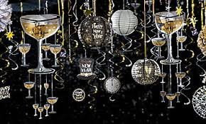 New Years Eve Balloon Decorations by New Years Eve Decorations Party City