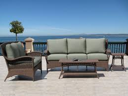 Hampton Bay Sectional Patio Furniture - exterior interesting hampton bay patio furniture with beige cushions