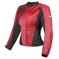 red motorcycle jacket 159 95 speed u0026 strength womens wicked garden mesh jacket 196920