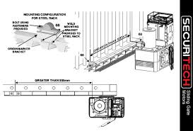 sliding gate motors securitech