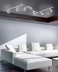 Esszimmer Lampe H Enverstellbar Dimmbar Led Deckenleuchte Deckenstrahler Stahl 6flammig