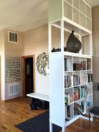 bookcase dividers perfect bookcase room divider design minimalist