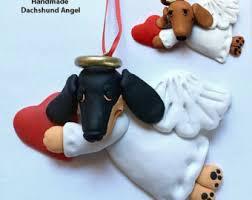 dachshund angel etsy