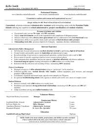 Free Sample Resume For Administrative Assistant by Examples Of Administrative Assistant Resumes Administrative