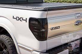 Vintage Ford Truck Tail Lights - 2009 2014 f150 raptor recon led tail lights smoked 264168bk