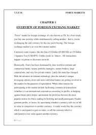 Best Resume For Sales And Marketing by Foreign Exchange Market