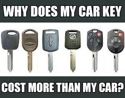 Lost Keys Meme - why transponder car keys cost so much keyme keyme blog