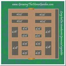 Garden Bed Layout My Raised Bed Vegetable Garden Changes For 2010 Growing The Home