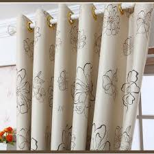 Fabric For Curtains Korea Stylish Drapes Beige Curtains For Living Room Window Simple