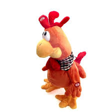 Singing Stuffed Animals A Rooster Toys Singing Musical Chicken Stuffed