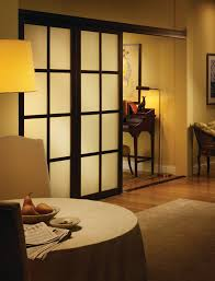 looking sliding room dividers in living room traditional with
