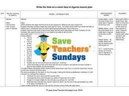 ks1 time lessons bundle pack 16 lessons by saveteacherssundays