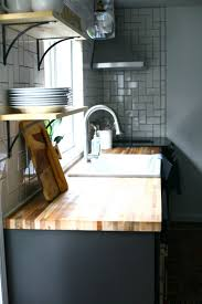 all about our diy butcher block countertops create enjoy we ve had no issues cooking cleaning spilling coffee on them etc and they ve held up great the wood texture was something to get used