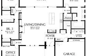 modern ranch floor plans u shaped ranch house plans unique modern floor courtyard u shaped