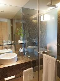 modern hotel bathroom vivanta by taj president mumbai compared to the modern and