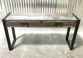 reclaimed wood l shaped desk reclaimed wood writing desk reclaimed wood l shaped desk