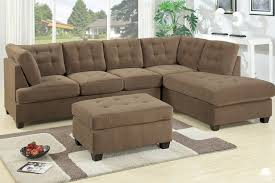 Section Sofa Sectional Sofa Waffle Suede