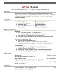 Maintenance Resume Objective Hvac Technician Resume 17 Outstanding Job Description Of A Diesel