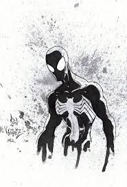 black spiderman metaworks deviantart
